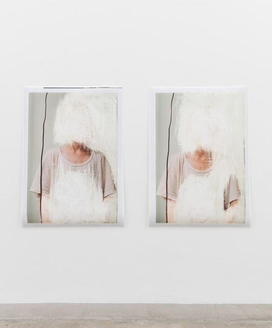 , 'T-shirt and Wire 1 (Diptych) ,' 2016, Anat Ebgi