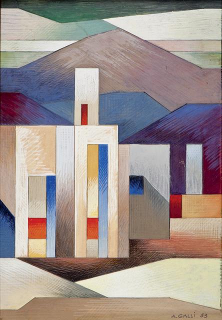 , 'Como,' 1953, Cardelli & Fontana artecontemporanea