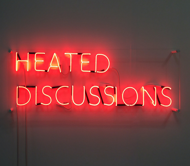 Tim Etchells, 'Heated Discussions', 2015, Jenkins Johnson Gallery