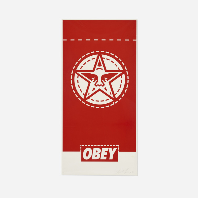 Shepard Fairey (OBEY), 'Obey Banner', 2000, Rago/Wright