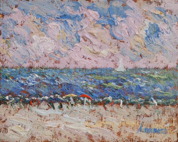 , 'A La Plage, Study,' 2018, Galerie d'Orsay