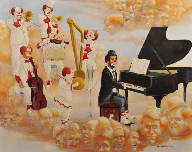 Hal Crecy, 'Clown Heaven', The Illustrated Gallery