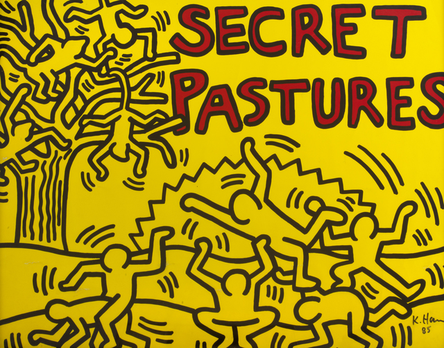 Keith Haring, 'Secret Pastures', 1984, Julien's Auctions