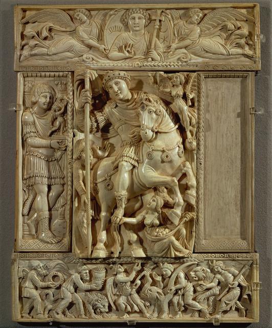 'Empereur triomphant, dit Ivoire Barberini (The Emperor Triumphant, called the Barberini Ivory)', Musée du Louvre