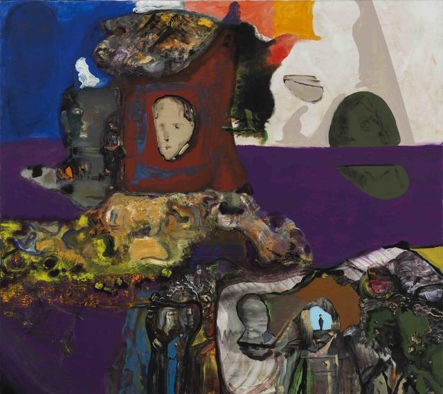 Jorge Queiroz, 'A Mumia e o Astronauta', 2017, Galerie Nathalie Obadia