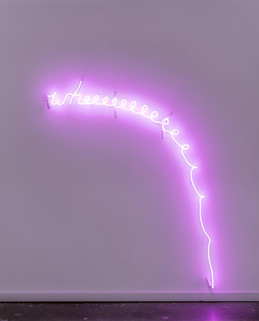 , 'Wheeeeeeeeeeeee!,' 2017, Jane Lombard Gallery