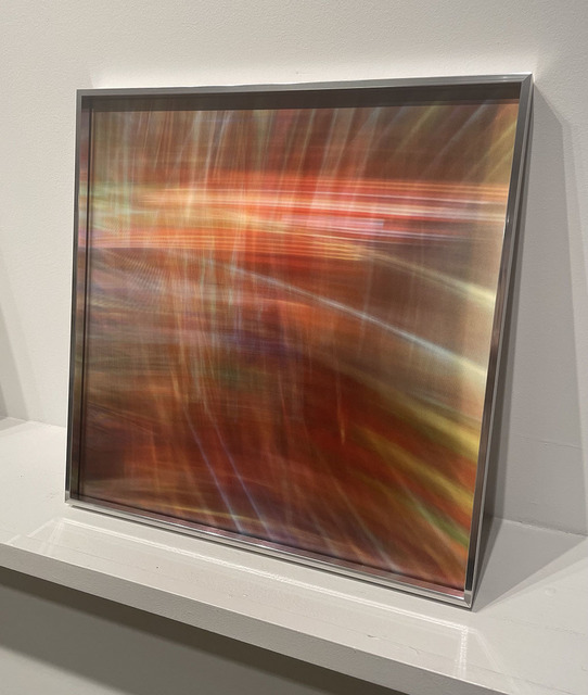 Maja Petric, 'Vespers to Sun', 2021, Mixed Media, Framed lenticular print, Winston Wächter Fine Art