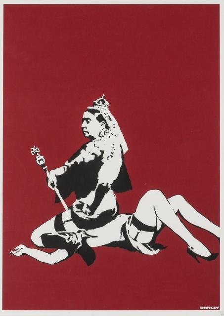 Banksy, 'Queen Victoria', 2003, Forum Auctions