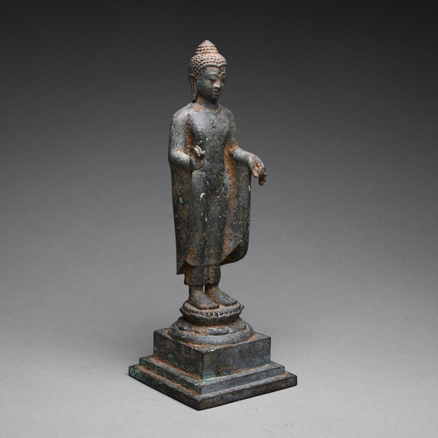Unknown Indonesian Bronze Buddha Figure 900 1250 Available For Sale Artsy