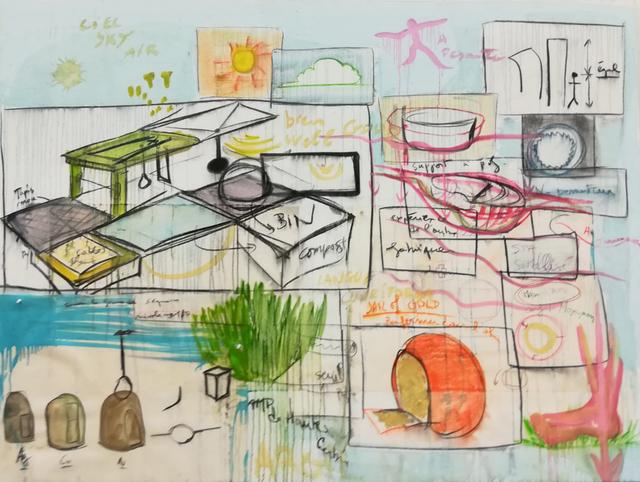 , 'Spa,' 2016-2017, Galerie Nathalie Obadia