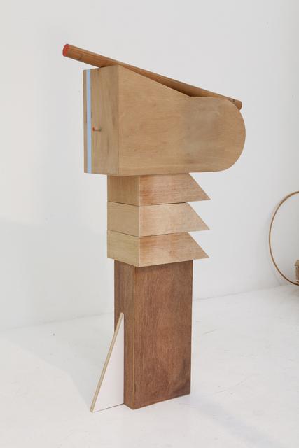 , 'Grave Digger #4 (Helmet & stick),' 2012, Nina Johnson