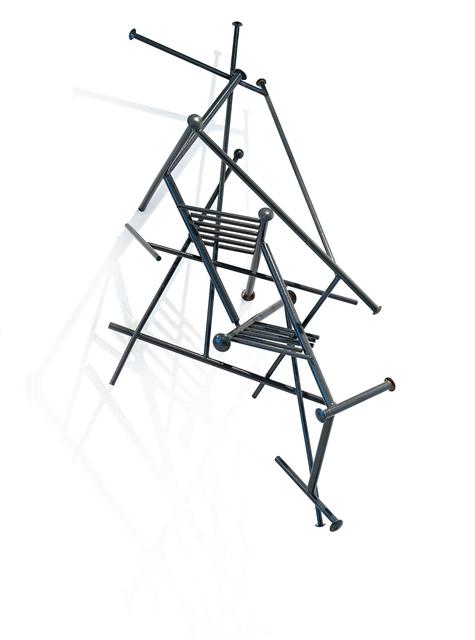 Edoardo Villa, 'Black Rhombus I', 1998, Strauss & Co