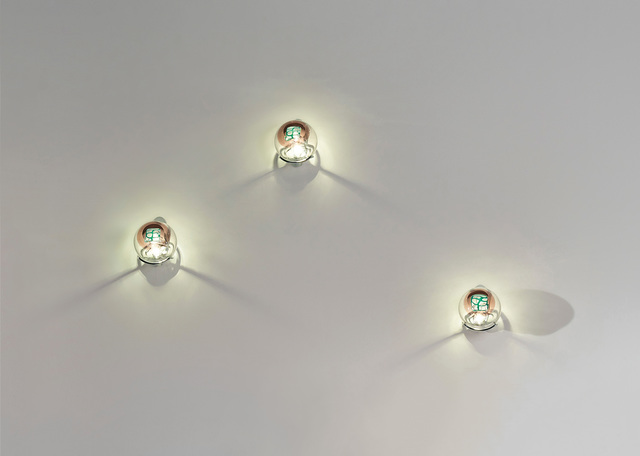 Venini, 'Set of three 'Grata' wall lights', Phillips