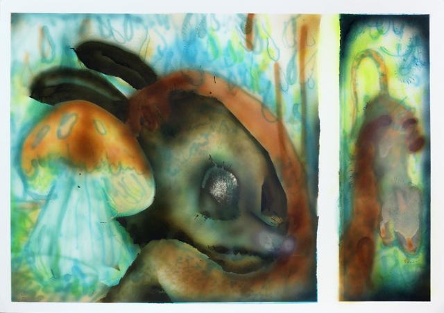 """, 'Untitled (de la serie """"El corazón de un mundo""""),' 2016, PIEDRAS"""