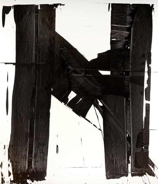 , 'Black Brushstrokes 1,' , ArtStar