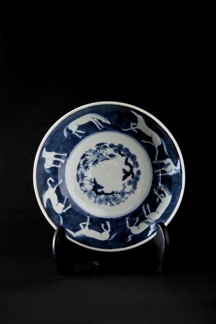 , 'BLUE AND WHITE HORSE BOWL,' 2016, Sladmore Contemporary