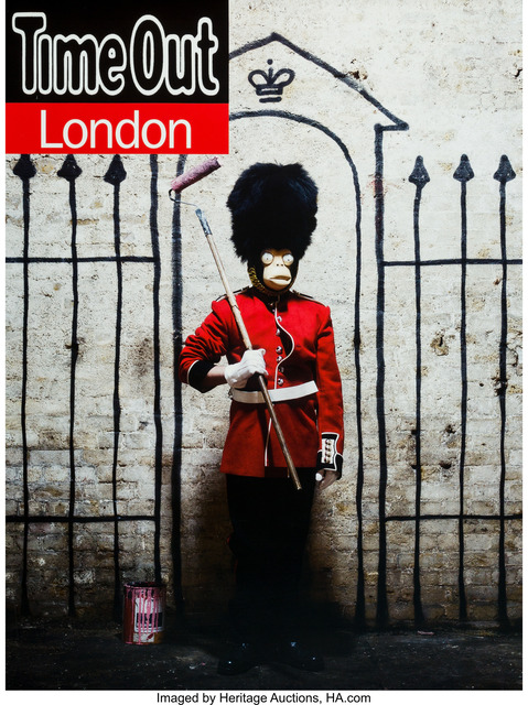 Banksy, 'Time Out London Magazine, poster', 2010, Heritage Auctions
