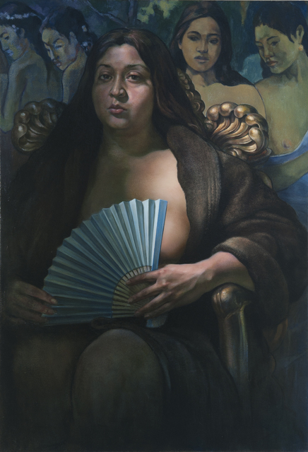 , 'The Blue Fan,' 2019, RJD Gallery