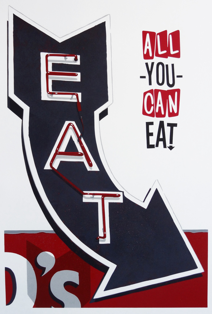 , 'All You Can Eat,' 2015, Sue Greenwood Fine Art