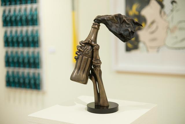 , 'Riot Coke Bronze,' 2018, Treason Gallery