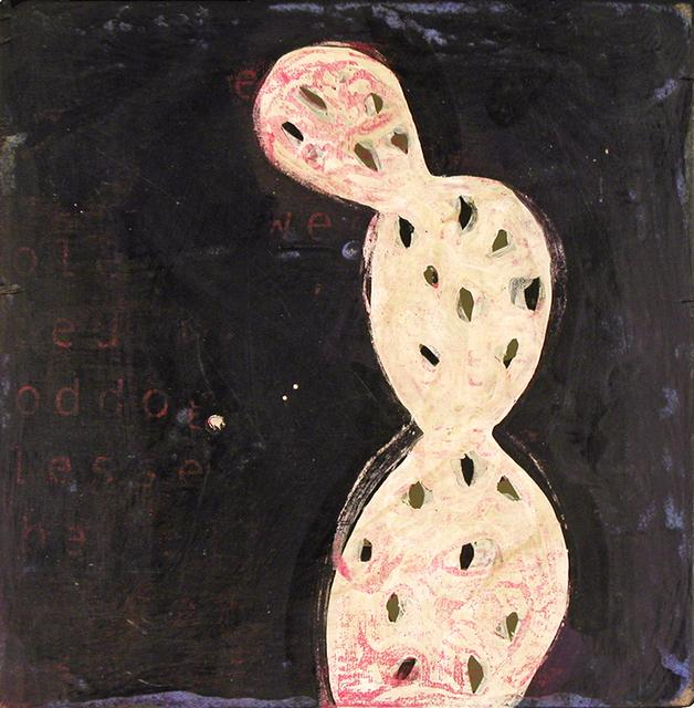 John Randall Nelson, 'Cutie Pie #5', 2020, Painting, Mixed media on panel, Sue Greenwood Fine Art