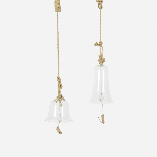 Humberto and Fernando Campana, 'set of two hanging bells from the Campane di Campana series', 2005, Wright