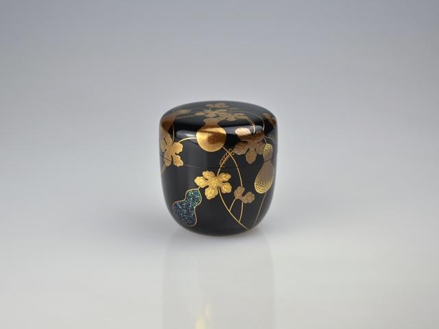 , 'Maki-e Tea Caddy with Gourds,' Heisei period (1989-2019), Galerie Kommoss