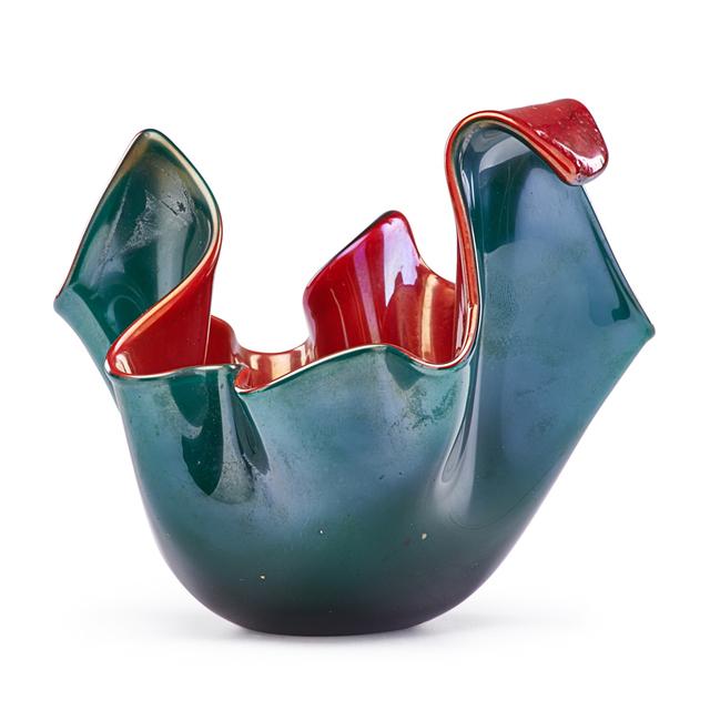Fulvio Bianconi, 'Small Fazzoletto Vase, Murano, Italy', 1950s, Rago/Wright