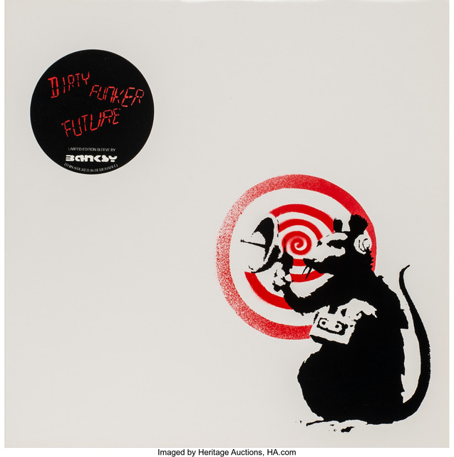 After Banksy, 'Radar Rat Dirty Funker (Red)', 2008, Heritage Auctions