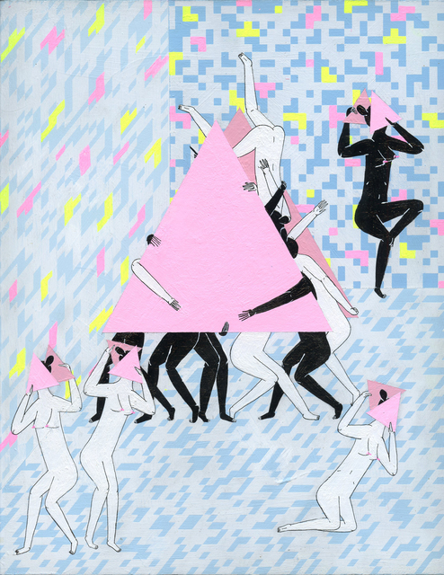 , '3 Point Dancers,' 2015, KP Projects