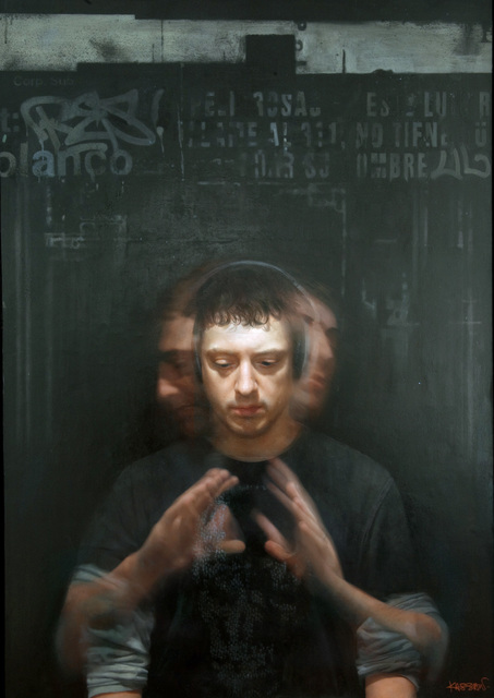 , 'Self Portrait in Motion,' 2010, Gallery Henoch