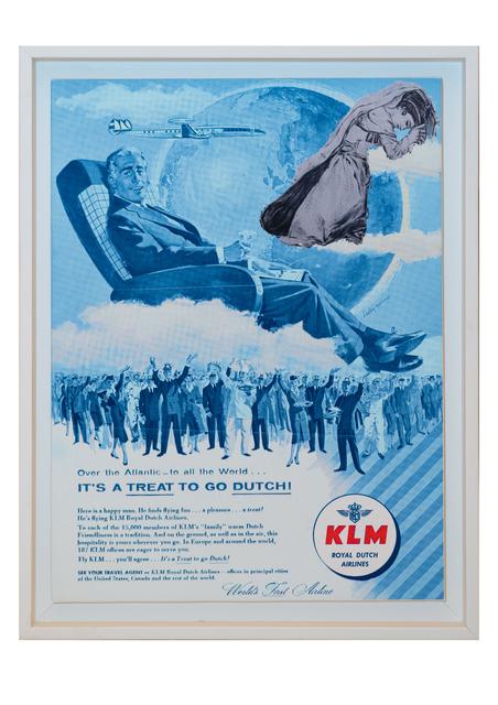 , 'Bon Voyage - KLM,' 2017, Janet Rady Fine Art