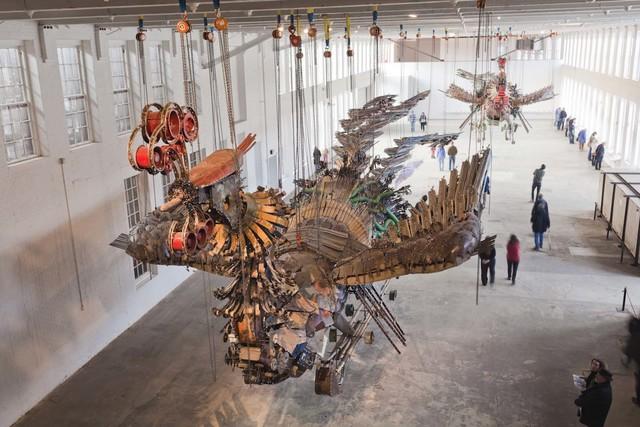 , 'Phoenix Project,' 2007-2011, MASS MoCA