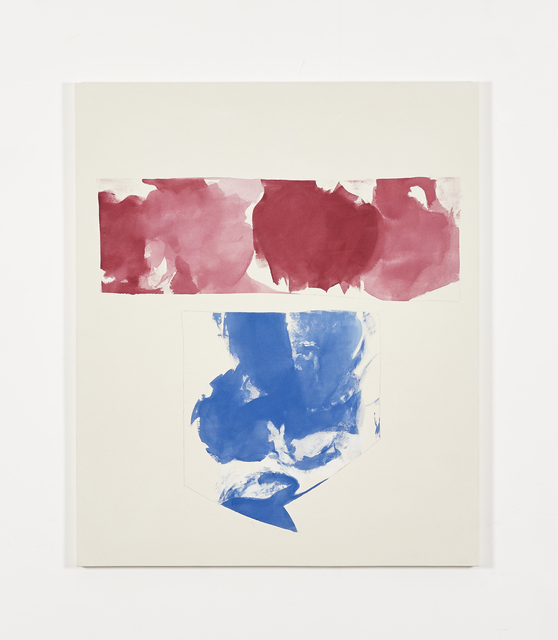 , 'Red and blue shapes (May 2014),' 2014, Galerie Greta Meert