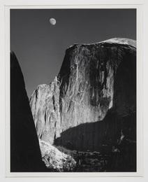 Moon and Half Dome, Yosemite National Park, CA