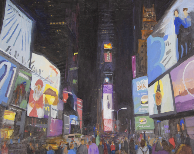 , 'Times Square At Night,' 2020, 33 Contemporary