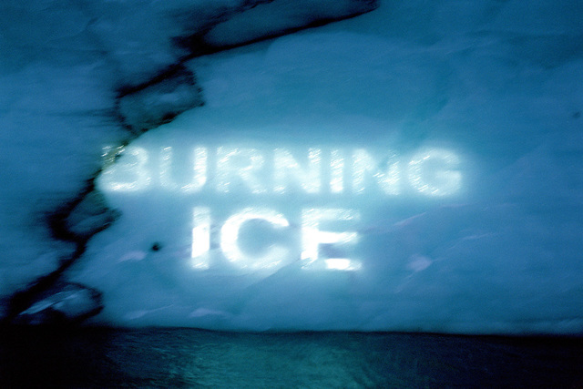 , 'Ice Texts,' 2005-2010, Laboratoria Art & Science Space