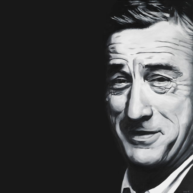 , 'Robert De Niro (Black),' 2017, Eden Fine Art