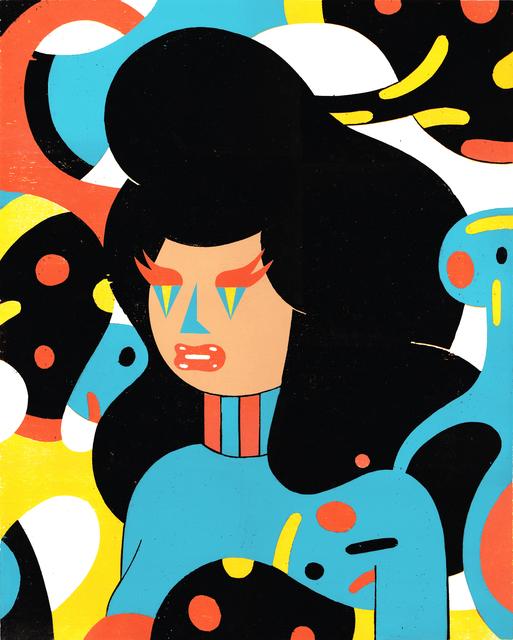 , 'Burning Eyes,' 2018, Urban Spree Galerie