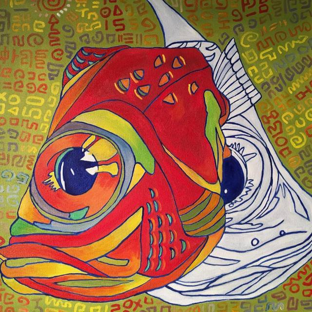 , 'Fish Heads No.1,' 2016, Space 776