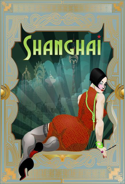 , 'Shanghai Deco,' 2012, Addicted Art Gallery