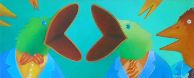 , 'Debating Society,' 2015, Gallery NAGA