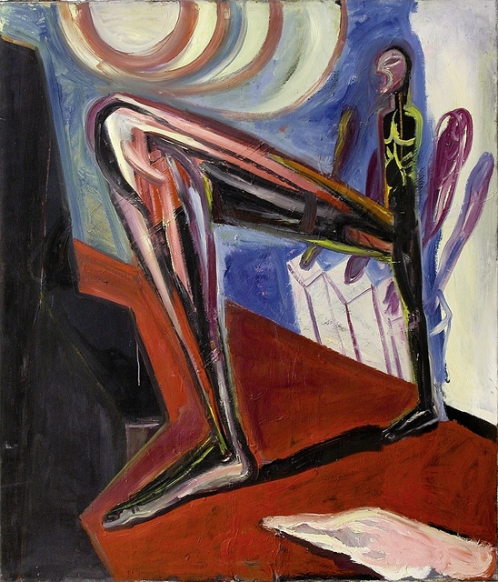 , 'Der große Schritt,,' 1988, Galerie Tore Suessbier