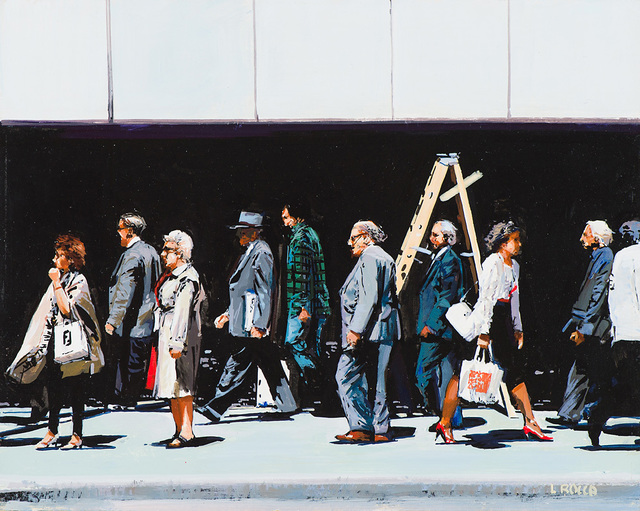 Luigi Rocca, 'New York People', 1997, Larsen Gallery