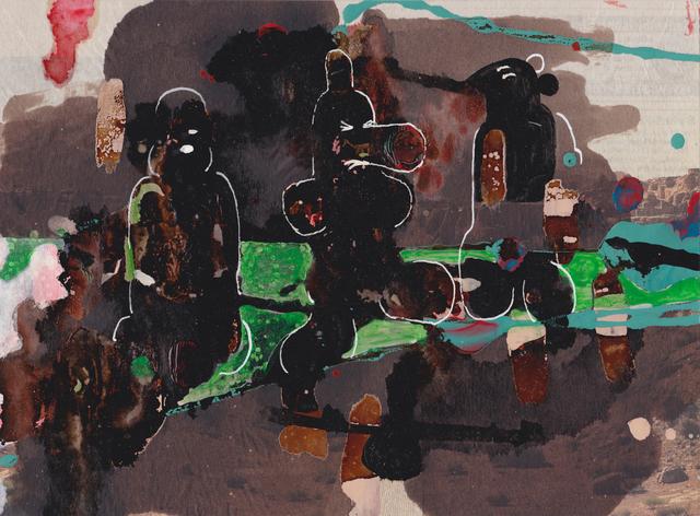 , 'Assyrische Wurstgeister / assyrian Sausage Ghosts,' 2008, Monica De Cardenas