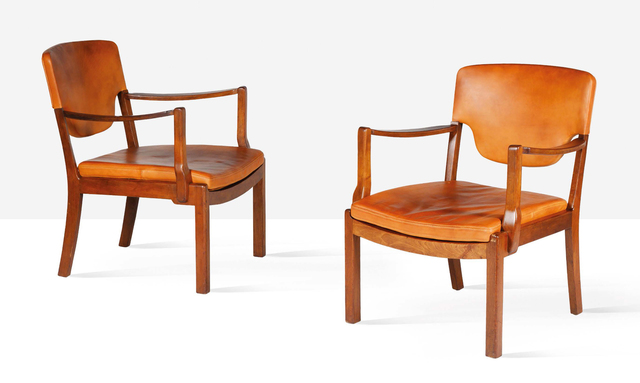 Tove Kindt-Larsen, 'Pair of lounge chairs', 1942, Aguttes