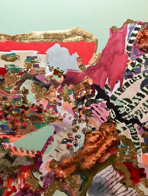 , 'Battle Notes I,' 2018, 99 Loop Gallery