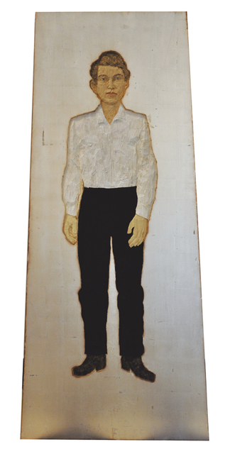 , 'Man with white shirt & black trousers,' 2014, Pepe Cobo