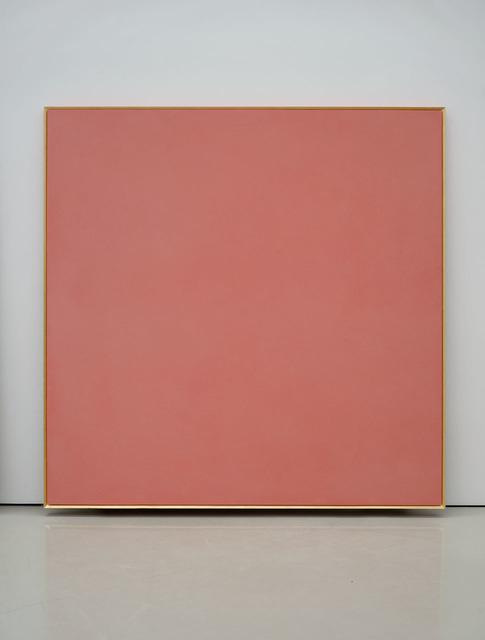 , 'Il colore e l'oro, rosso porpora,' 2016, Lia Rumma