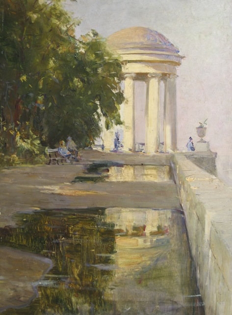 Aleksandr Nikiforovich Chervonenko, 'Shrine in Volga River', 1989, Surikov Foundation